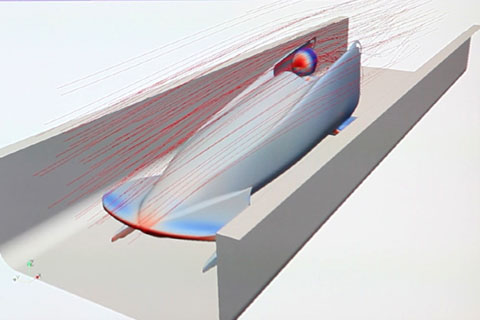 Monobob Aerodynamic Development